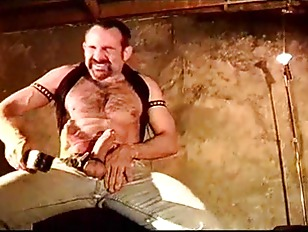 Self Cbt Session By A Hairy Muscular Man. Hes Getting Off On His Self Inflicted Ball Squeezing