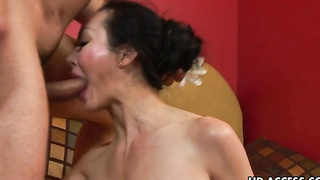 Mature Asian Angie Venus Sucks And Fucks Good