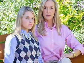 Brandy Love Teaches Her Step Daughters Boyfriend