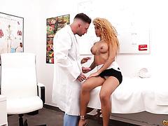 Torrid Venus Afrodita Gets Her Latina Pussy Railed By Plastic Surgeon